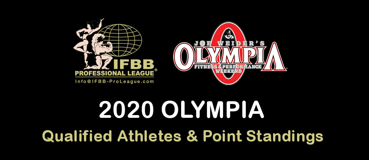 Olympia 2020 Schedule