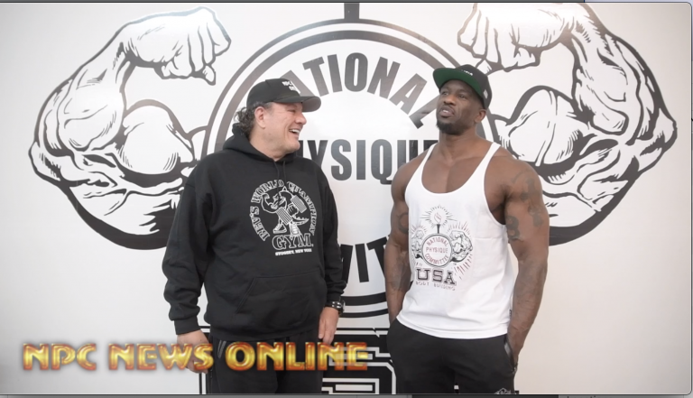 2020 Road To The Arnold: IFBB Professional League Men's Physique  Pro George Brown