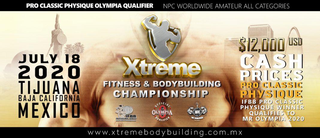 2020 Xtreme Fitness & Bodybuilding Championship   IFBB PRO