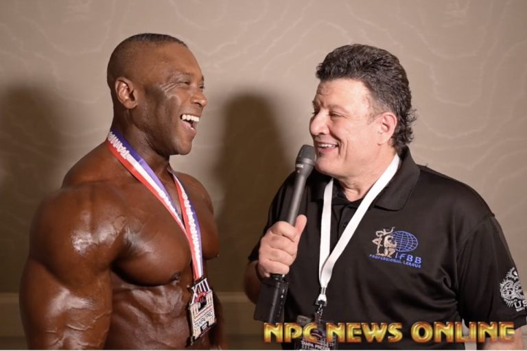 2020 IFBB Pro League Tampa Pro Masters Men's Physique  Winner Michael Anderson After Show Interview