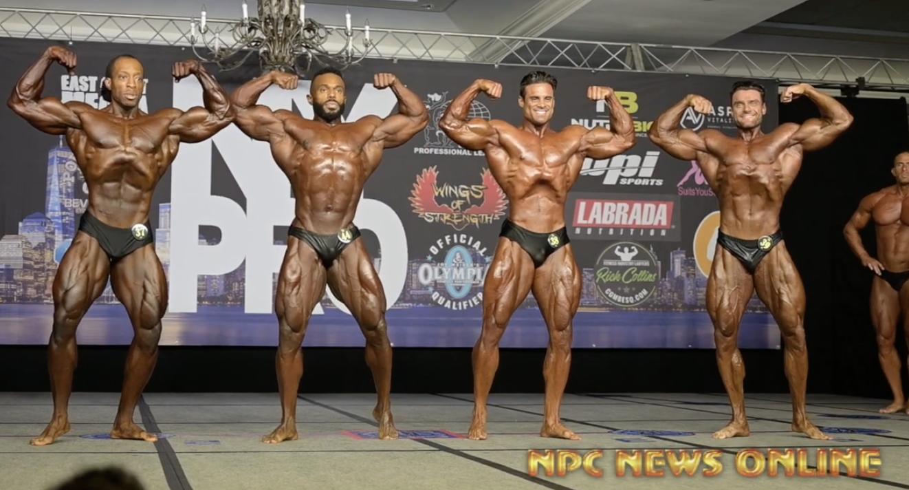 2020 IFBB Pro League NY Pro Men's Classic Physique FInals Videos   IFBB PRO