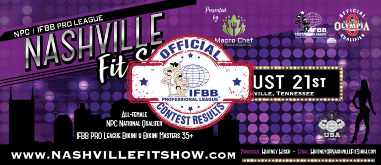 2021 Nashville Fit Show Scorecards