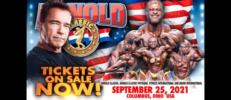 Arnold Classic USA – Tickets on Sale!