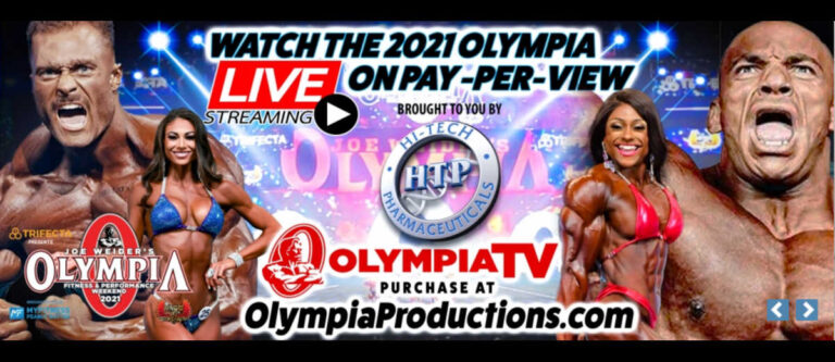 Olympia Pay-Per-View Announced!