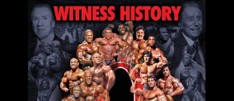 2021 Olympia – Witness History