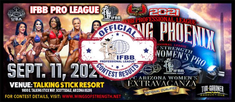 2021 Rising Phoenix/Arizona Pro Scorecards