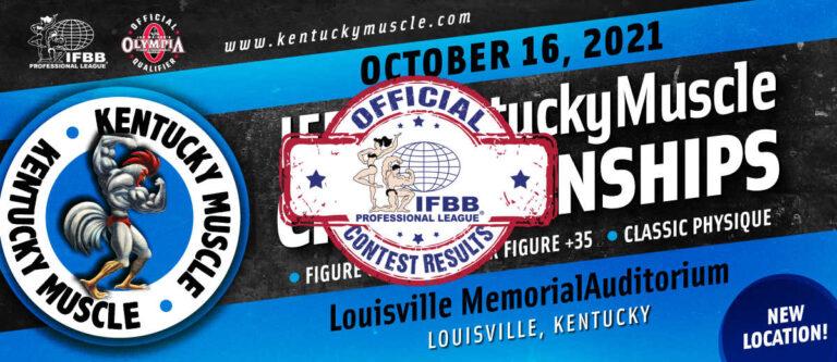 2021 Kentucky Muscle Pro Scorecards