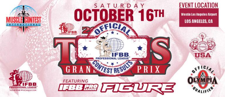 2021 Titans Grand Prix Pro Scorecard